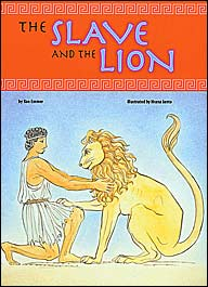"Cover art of ""The Slave and the Lion"""