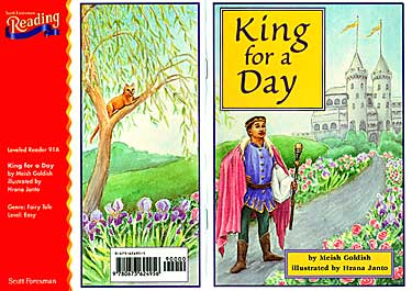"Cover art of ""King for a Day"""